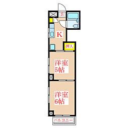 白石ビル [2階]の間取り
