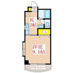 コーポミレイ [2階]の間取り