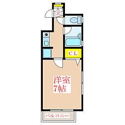 ダイアパレス天文館南[8階]の間取り