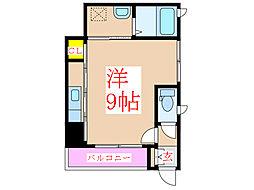 クラヴィエ新照院(管理)[1階]の間取り