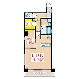 Lapis Uenosono[2階]の間取り