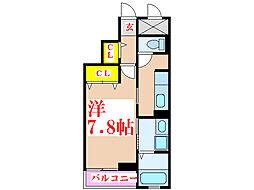ラッフィナート・M[3階]の間取り