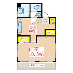 福島ビル(管理)[3階]の間取り