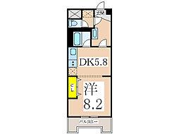 トーカングランドマンション第6鹿児島 505号室[505号室]の間取り