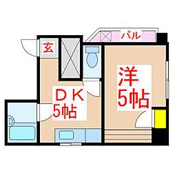 ワールドゲット430ビル[3階]の間取り