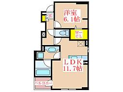 レオンハート吉野台IV[1階]の間取り