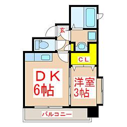 Precious K[10階]の間取り