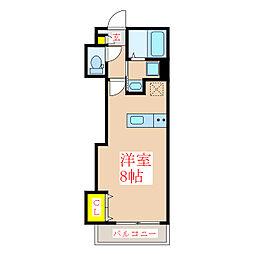 エル・カ・アーサII[3階]の間取り