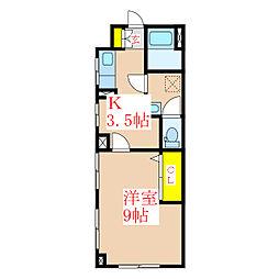 林ビル[3階]の間取り