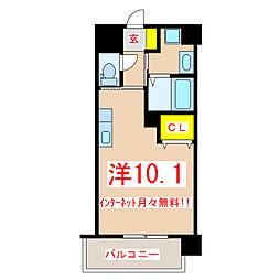 鹿児島市電1系統 二中通駅 徒歩5分の賃貸マンション