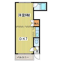 エミネンスN40[4階]の間取り