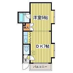 エミネンスN40[2階]の間取り