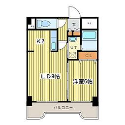 テラセル48[4階]の間取り