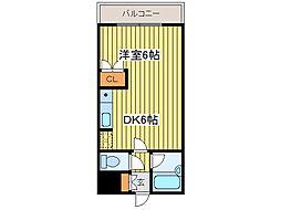 ルシール88[8階]の間取り