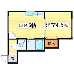 アーバンN32[3階]の間取り