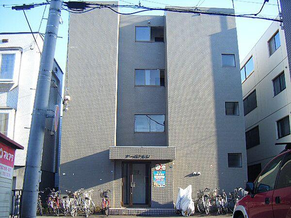 北海道札幌市東区北二十五条東15丁目の賃貸マンションの外観