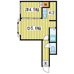 元町クラブハウス[1階]の間取り