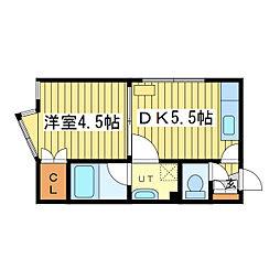 メゾンド・シン[3階]の間取り