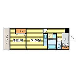 札幌パークガーデン[2階]の間取り