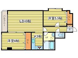 ハウスNYPビル[1階]の間取り