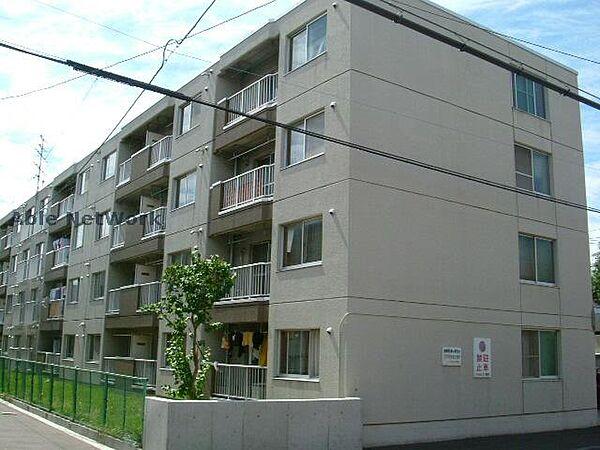 北海道札幌市東区北十一条東14丁目の賃貸マンションの外観