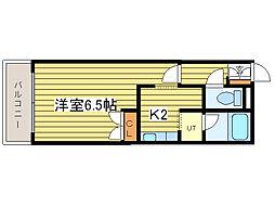 グランドール元町(北24東18)[2階]の間取り