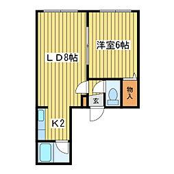 Sapporo元町壱番館[2階]の間取り