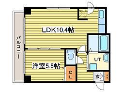CASA元町[8階]の間取り