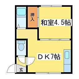 イレブンハウス[2階]の間取り