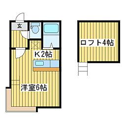 マリオンコート元町・I[3階]の間取り