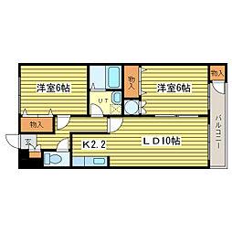 マイドリーム5[2階]の間取り