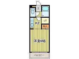エルム156[4階]の間取り