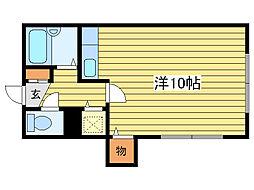 アビチN16[1階]の間取り
