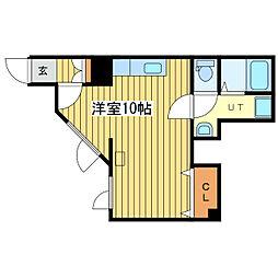 HOMES 13[1号室]の間取り