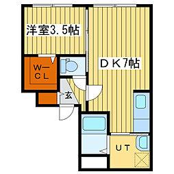 CASA N7[1階]の間取り