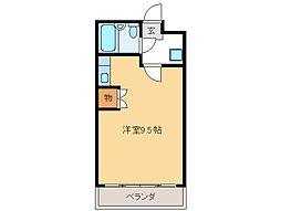 シティーコーポ田口[2階]の間取り
