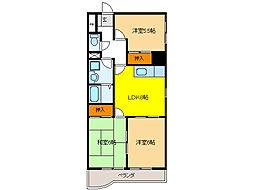 FULL HOUSE 235[4階]の間取り