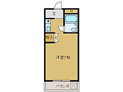 サテライト立花[3階]の間取り