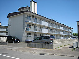 北海道北見市若葉2丁目の賃貸マンションの外観