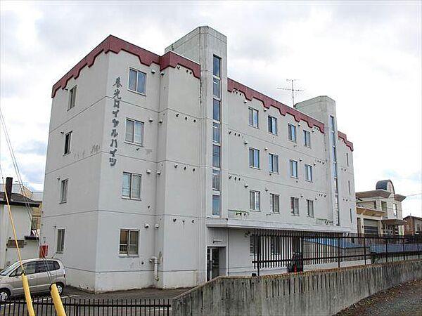 北海道北見市春光町3丁目の賃貸マンションの外観