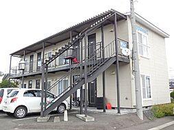 北海道北見市広明町の賃貸アパートの外観