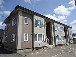 北海道北見市東相内町の賃貸アパートの外観