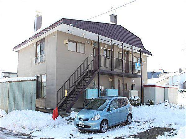中川アパート[2階]の外観