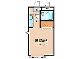 パークショア瀬田[6階]の間取り