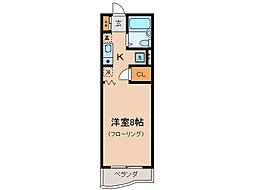 コーストハイツ友湖[2階]の間取り