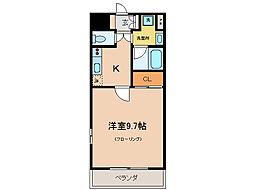 エンゼルプラザ瀬田駅前[9階]の間取り