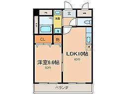 ロイヤルステ−ジ[6階]の間取り