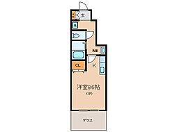 ロハスK[1階]の間取り