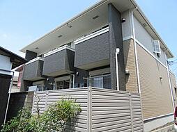 滋賀県大津市大萱2丁目の賃貸アパートの外観