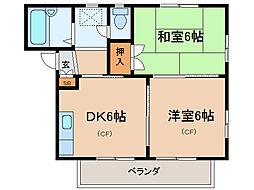 AZALEA21[2階]の間取り